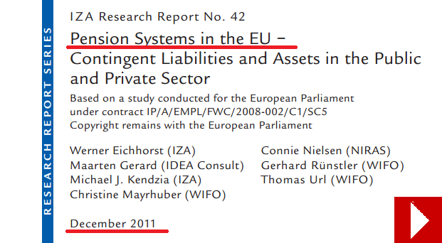 pension systems EU